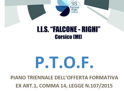 PTOF – Piano Triennale dell'Offerta Formativa 2019/2022