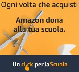 Amazon, un click per la scuola