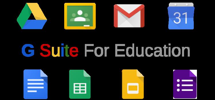 Informativa a uso scolastico per Google Suite for Education