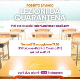 Roberto Saviano: lezione sul Risorgimento